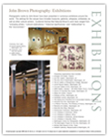 John Brown Jr. Exhibitions Brochure